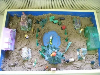 Песочная терапия в работе с детьми